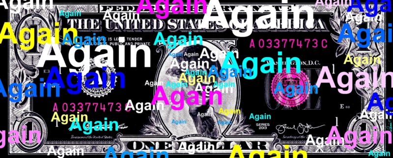 dollar again noir NEGATIF SITE INTERNET